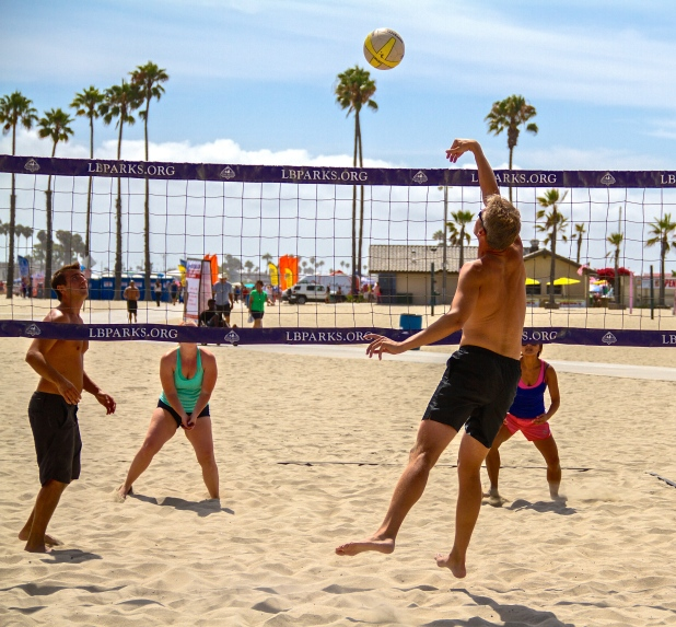Volleyball League Long Beach