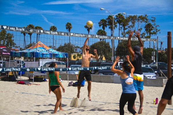 Beach Volleyball Long Beach